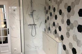 Rénovation d'une salle de bain dans une ancienne battisse